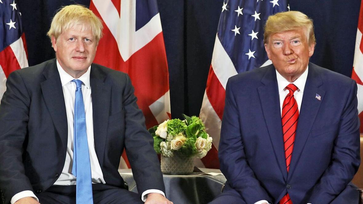 خبرنگاران جانسون و ترامپ بر هماهنگی بین المللی در مقابله با کرونا تأکید کردند