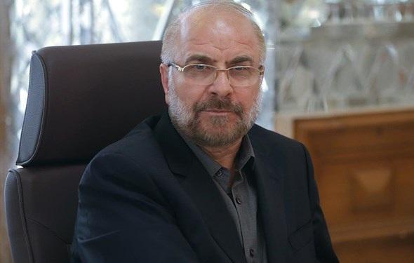 پیغام تبریک احمد بن عبدالله خطاب به قالیباف، لزوم توسعه روابط پارلمانی ایران و قطر