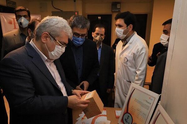 بازدید معاون روحانی از مراکز رشد دانشکده داروسازی شیراز