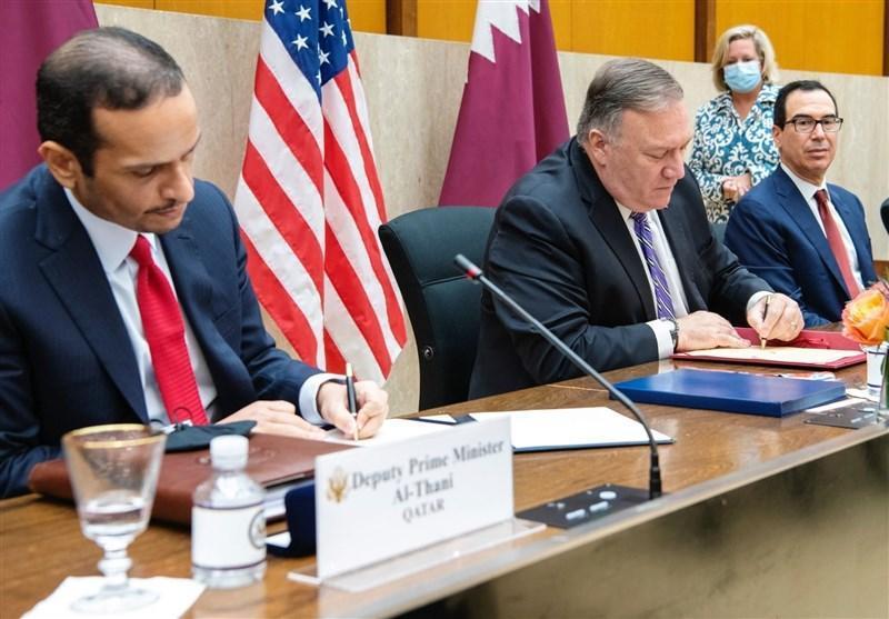 ابراز خرسندی پامپئو از شروع مذاکرات راهبردی آمریکا-قطر