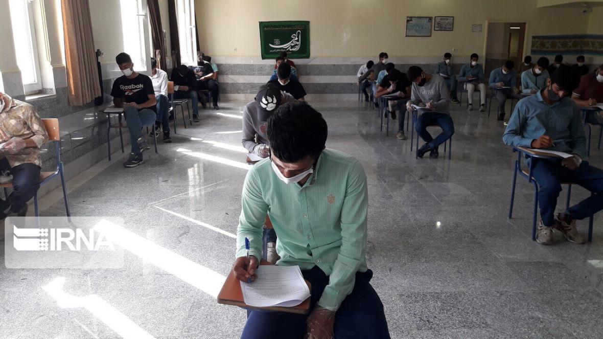 خبرنگاران شروع آزمون مدارس سمپاد با حضور هزار و 382 دانش آموز ایلامی