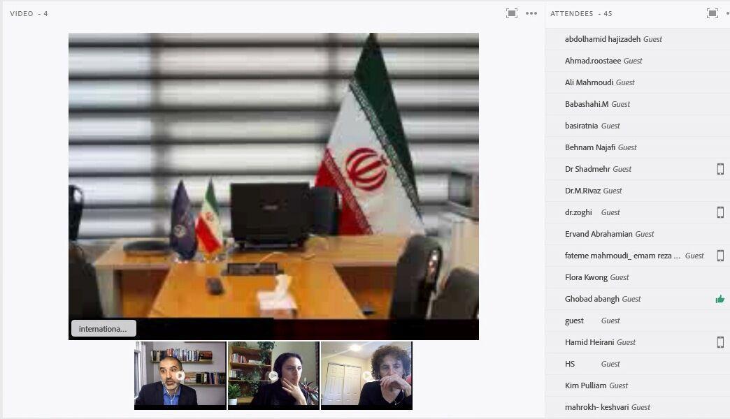 خبرنگاران نشست علمی متخصصان دانشگاه های پنسیلوانیا و علوم پزشکی شیراز گشایش یافت