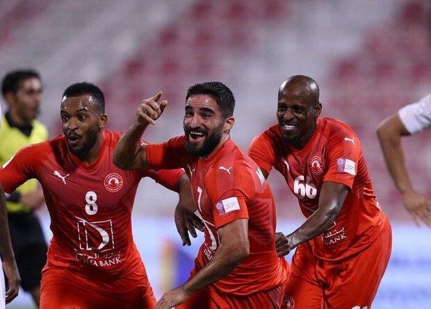فرار تیم العربی از شکست با درخشش دوباره مهرداد محمدی