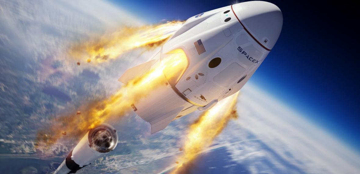 4 فضانورد با کپسول اسپیس ایکس به ایستگاه فضایی بین المللی رسیدند