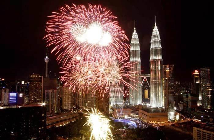 سال نو در مالزی و سنگاپور