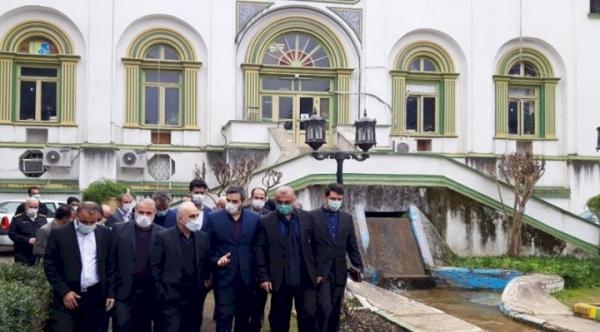 کاخ صفی آباد بهشهر بازسازی می گردد