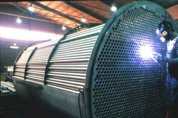 مبدل های حرارتی برای صنعت پتروشیمی ساخته شدند