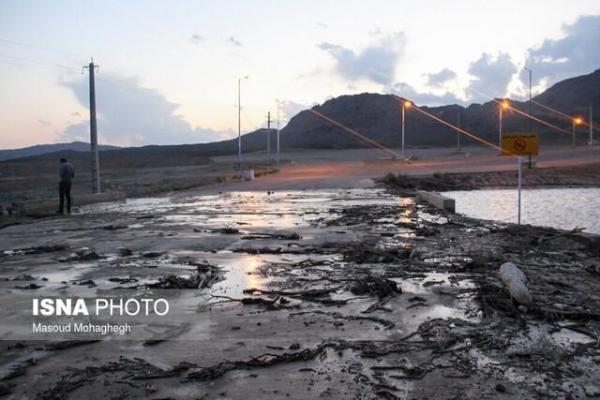 خسارت 150 میلیارد تومانی سیلاب به شهرستان تفت