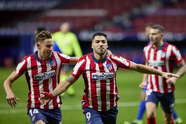 پیروزی اتلتیکومادرید با تک گل سه امتیازی سوارز