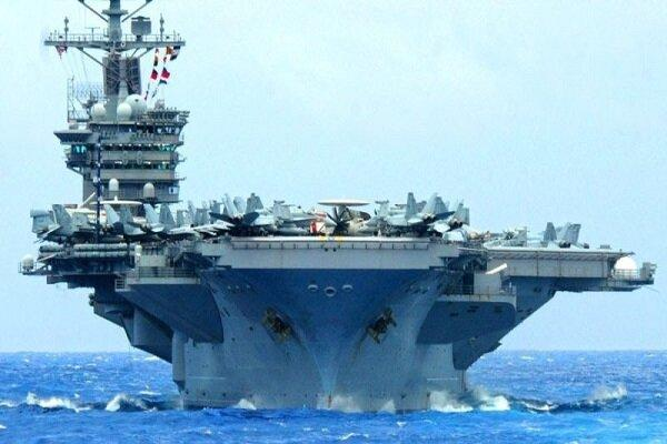 پنتاگون دستور بازگشت ناو هواپیمابر خود را از خاورمیانه صادر کرد