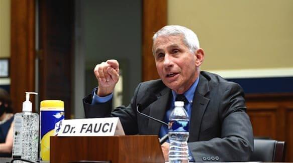 فائوچی ادعای ترامپ مبنی بر بیش از حد بودن آمار تلفات ویروس کرونا در آمریکا را رد کرد
