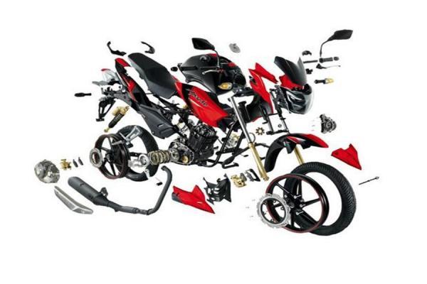 قطعات یدکی موتورسیکلت