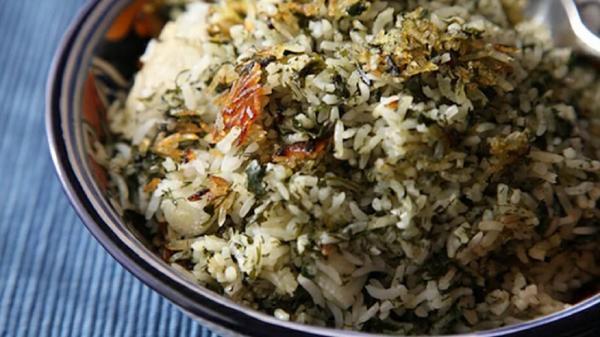 طرز تهیه گشنیز پلو ؛ غذای خوشمزه و اصیل ایرانی