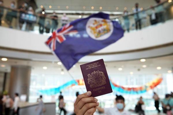 70 درصد هنگ کنگی ها گذرنامه انگلیسی می گیرند