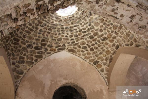 حمام تاریخی محله درویش یکی از مکان های تاریخی دماوند، عکس