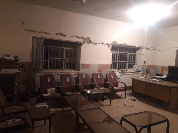 خبرنگاران زمین لرزه جنوب اصفهان 5 مصدوم داشت