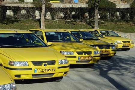 شروع برچسب گذاری نرخ جدید کرایه های تاکسی در پایتخت