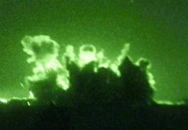 حمله راکتی به پایگاه عین الاسد