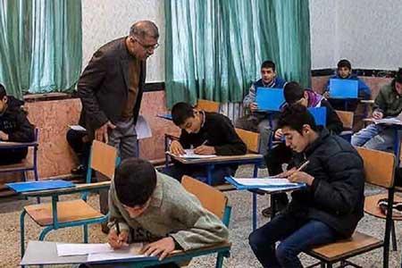 دانش آموزان کرونایی در امتحانات نهایی شرکت نکنند