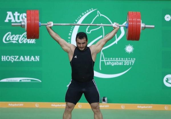 وزنه برداری گزینشی کلمبیا، ثبت رکورد 170کیلوگرم در یک ضرب و مصدومیت مرادی